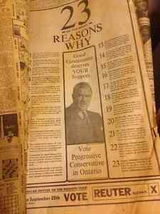 Old newspapers from 1963 Kitchener / Waterloo Kitchener Area image 5