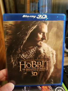 The Hobbit The Disolation Of Smaug (BLU-RAY 3D)