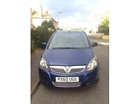 REDUCED PRICE!!! 2010 VAUXHALL ZAFIRA 1.7 DIESEL CDTI ECOFLEX ULTRA BLUE (7 SEATER) READY TO GO