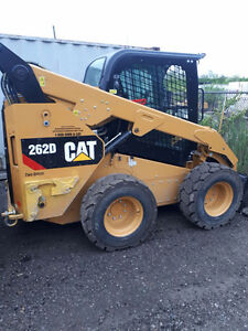 2016 CAT 262D SKID STEER - NEW!!!!!