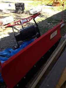 Western half ton series plow for sale