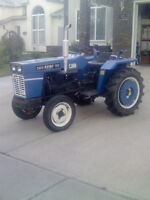1993Rhino Diesel TRACTOR 2 WD FOR SALE$3995.00,push snow
