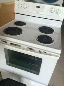 "whirlpool stove 30"" works great just have no use for it now"