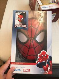 Spider-Man 3D wall light brand new