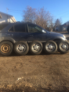 5 -245/75/15  4-215/70/15 tires for sale