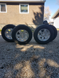 4  all season tires with rims for sale