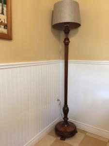 Antique Edwardian Standard floor lamp