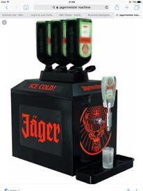 Jagermister 3bottle machine. Can deliver