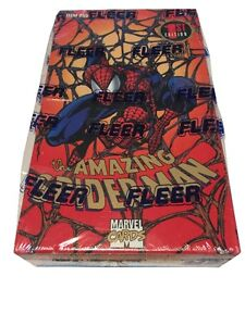 1994 Spiderman 1st Edition Fleer Factory Sealed Box