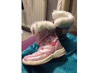 Peppa pig snow boots