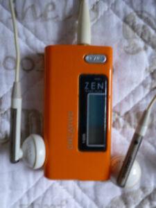 Zen Nano Plus 1GB MP3 Player (ORANGE) – $20!