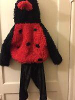2T/3T Ladybug Halloween Costume