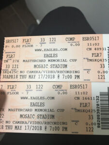 Eagles Concert Ticket - for 2 person