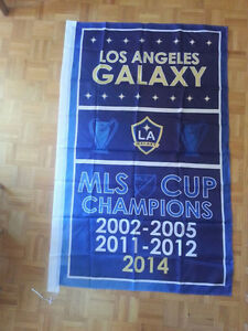 Los Angeles Galaxy Champions Flag Saint-Hyacinthe Québec image 1