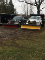 Snow plowing, Sanding and Snow removal