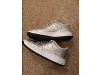Nike Air Silver