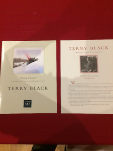 A Collectible Set Of 4 Fine Art Prints By Terry Black