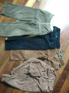 BOYS CORDEROY PANTS