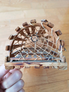 Vintage Hand Made Lobster Trap Replica