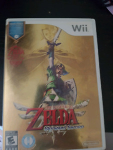 Wii with zelda special edition