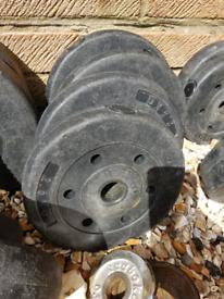 4 x 2.5kg concrete plates 1 inch