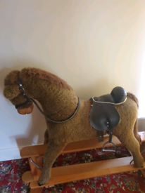 Mama's papas high quality rocking horse only £ 70