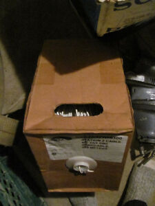 box of telephone wire