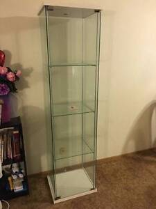 Ikea Detolf Glass Cabinet White Birkdale Redland Area Preview