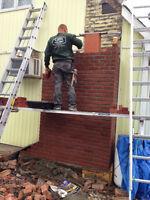 MASONRY: REPAIRS, REBUILDS, RESTORATION OR NEW WORK