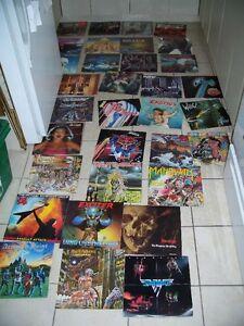 33 disques VINYL metal