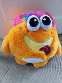 2 soft monster toys new