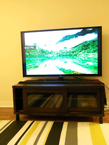 Nice 55 inch LG TV  with free table
