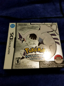 Pokemon Soul Silver COMPLETE / FACTORY SEALED