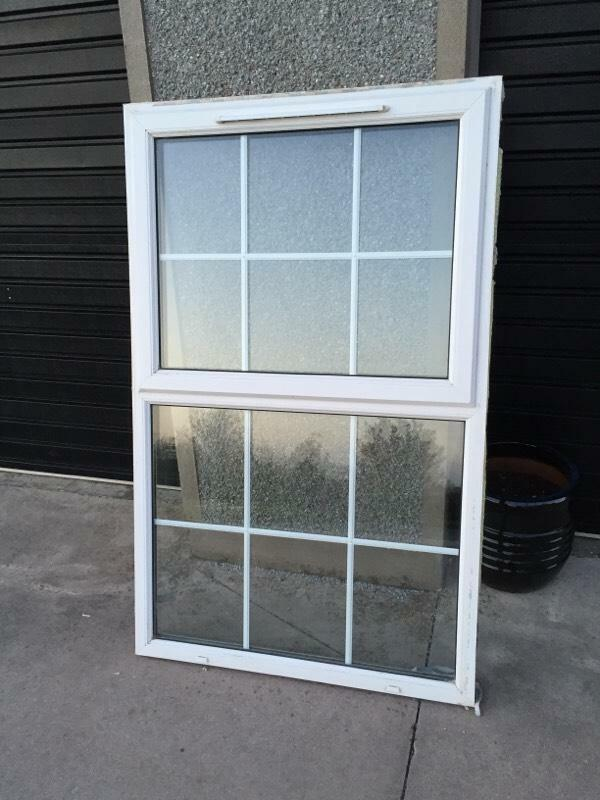 Double glazing white pvc window for sale in dungannon for Double glazed french doors for sale