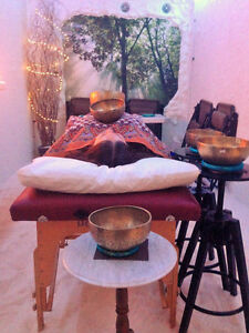 Tibetan Singing Bowl Vibration Meditation with Salt Therapy Brantford Ontario image 2
