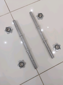 Solid heavy duyy dumbbell bars *IMMACULATE UNUSED*