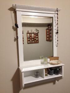 Framed Mirror (white)