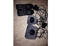 Bt twin cordless phone