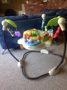 Fisher Price Luv U Zoo Jumperoo, Exc. Cond.