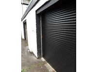 High quality electric roller garage doors