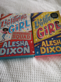 Alesha Dixon Lightning Girl and Lightning Girl Superhero squad books