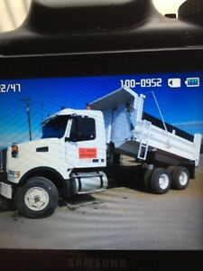 2002 Volvo Tandem with Plow