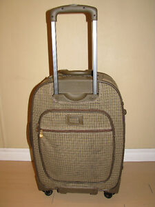 luggage Ralph lauren polo suitcase Wheels/Rolling