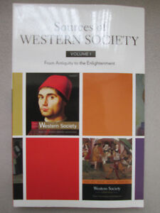 SOURCES OF WESTERN SOCIETY VOLUME 1 West Island Greater Montréal image 1
