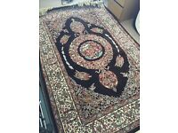 New Persian rug with nature design