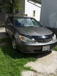 2002 Toyota Camry $4,000 Certified