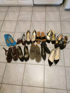 SALE COLLECTION OF SIZE 8.5 SHOES$10/PR