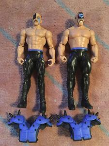 ROAD WARRIORS MATTEL WWE FIGURES!!!!!!!