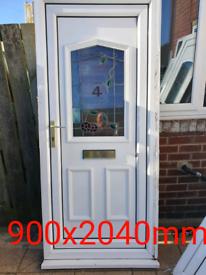 Upvc front doors ideal for landlords bargain £45 each