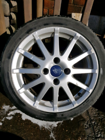 Ford fiesta ST alloys 16inch with tyres and nuts zetec s
